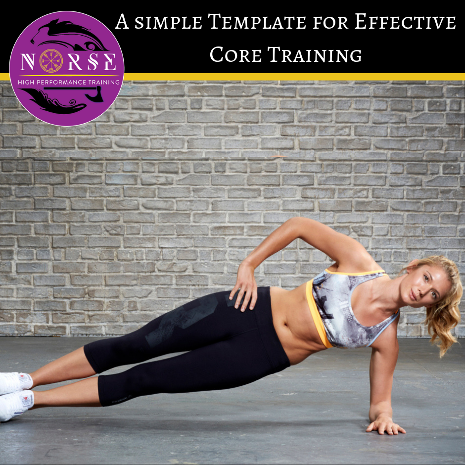 Template for effective core training